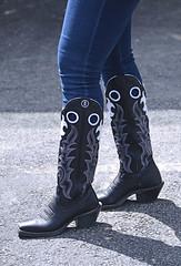 2012-04-19 (73) r5 cowboy boots at Pimlico (JLeeFleenor) Tags: girls woman black donna md shoes boots femme mulher maryland racing jeans footwear frau vrouw pimlico dona cowboyboots wanita  tightjeans workboots   kvinne   nainen kobieta footgear ridingboots   kvinde ena  kvinna kadn n lamujer    marylandhorseracing  marylandracing ngiphn