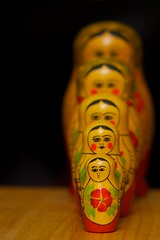 366 Project 133 - Babouska - Russian Nesting Dolls (in the bag solutions) Tags: dof russiannestingdolls babouska sigma70200mmf28exhsm 366project