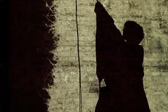 The making of Folded (SDNA) Tags: uk chris italy music london art festival fog digital ink paper foot design tv video media origami ben cabinet live performance vj singer nina electronic visual signal ltd audio curiosity floris valentina alessandro projections interdisciplinary olla nazir ticonzero tabuli sdna