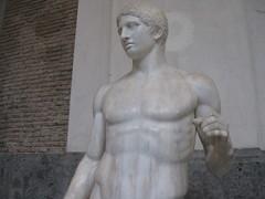 Doriforo di Policleto (Minerva's_Owl) Tags: pompei canone doriforo policleto chiasmo policleteo