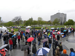 Crowd at the Minnesota Tax Cut Rally 2012