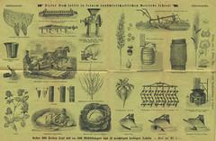 Werbeblatt für landwirtschaftliches Buch Seite 2,3 (altpapiersammler) Tags: vintage buch farm farming bauer werbung landwirtschft