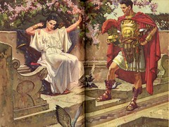 The Robe: Diana and Marcellus (CityOfDave) Tags: rome art illustration roman diana romanempire crucifixion romans jesuschrist marcellus caligula deancornwell therobe lloydcdouglas