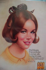 Breck hair ad (<Vicky's Flicks>) Tags: fashion vintage 60s retro 1960s magazines sixties seventeen