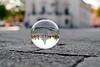 Town Hall, Kaunas #131/366 (A. Aleksandravičius) Tags: reflection glass ball 50mm town hall nikon crystal bubble 365 nikkor crystalball kaunas glassball nikkor50mm project365 kauno 365days senamiestis f14g 50mmf14g nikon50mm aikštė rotušės rotušė 131365 d700 nikond700 crystalballproject nikon50mm14g 3652012 afsdxnikkor50mmf14g