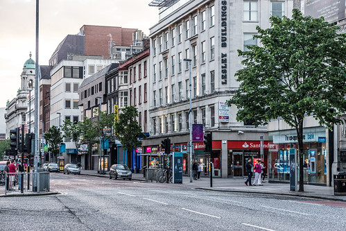 Streets Of Belfast - North Donegall Square