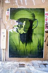 Combo (dprezat) Tags: street urban paris art painting stencil tag graf jerry peinture aerosol bombe combo pochoir sonyalpha700 comboculturekidnapper