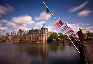 Den Haag, Hofvijver, Buitenhof, The Hague
