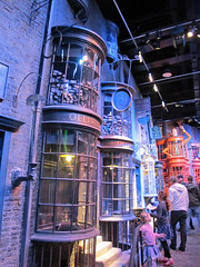 Muggles break into Diagon Alley. (maggie jones.) Tags: england hp alley wb hertfordshire watford herts diagon