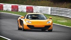 Mclaren MP4-12C. (DENNISVDMEIJS.NL Photography) Tags: orange photoshop germany photography spring nikon automotive mclaren dennis circuit supercar flugplatz v8 mp4 2012 oranje duitsland nordschleife nrburgring nrburg 12c meijs 70300vr touristenfahrt d7000 dennisvdmeijs mp412c