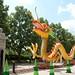 Missouri Botanical Gardens - Dragon Festival Art