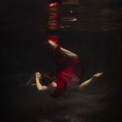 propeller (brookeshaden) Tags: red swimming blood propeller whimsical select fineartphotography underwaterphotography trueblood redfabric specshoot brookeshaden texturebylesbrumes