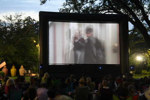 Outdoor Screening of Breakfast at Tiffany\'s