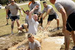 Water's fine (Official U.S. Air Force) Tags: sports turkey military tur airforce fitness usaf tugofwar overseas usairforce airman airmen departmentofdefense incirlik incirlikairbase