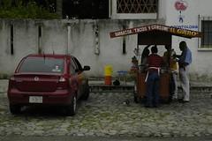 Chevrolet Corsa (D70) Tags: food chevrolet mexico la stand y tacos corsa huatulco baracoa lacrucecita elguero consome crucecita yconsome
