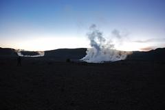 Smoky (Gerben's Photos) Tags: sunrise nikon smoke bolivia geyser altiplano soldemaana andeanplateau