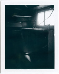 (Cole W. M.) Tags: camera b white black abandoned film polaroid fuji automatic land instant shack trailer fp 230 3000 fp3000b