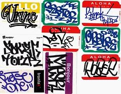 Stickers (stateofoppression) Tags: graffiti tag stickers zee trading slap urine zombies tonk nas rober handstyles saver orelse mesr sinek sestor constructivedestruction retse