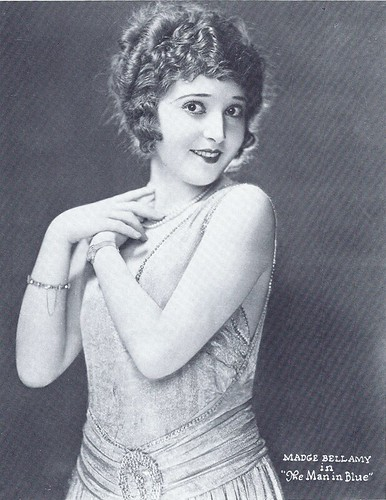 Madge Bellamy in The Man in Blue