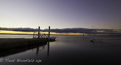 The pier. (Trent Blomfield) Tags: sunset australia nsw centralcoast picnicpoint theentrance