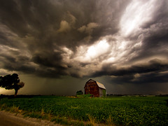 Spared (Explored FRONT PAGE!! July 5th) (MacDonald_Photo) Tags: storm clouds barn day michigan olympus storms epic zuiko omd oly lightroom zd eatonrapids em5 sl33stak jamieamacdonald 43 getolympus omdem5 43photography