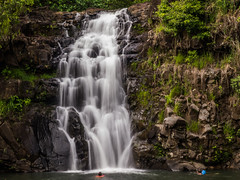 Swimming Falls (Mr Keef) Tags: park water swim falls northshore waimea oahuhawaii