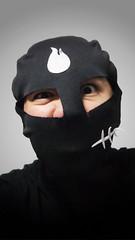 Villain (Kokkai Ng) Tags: portrait man black guy asian grey singapore asia ranger day power mask bad evil angry villain daiso