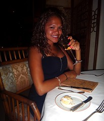 Dinner at the Halekulani Hotel (Σταύρος) Tags: vacation woman holiday girl dinner island hawaii restaurant paradise chica waikiki oahu restaurante tan romance lei insel linda northshore ハワイ オアフ島 hawaiian shaka garota honolulu latina lovely posh frau expensive waikikibeach isle fille ristorante isla aloha ebony blackgirl lemer hangloose lamer mahalo 1917 夏威夷 elegance レストラン frenchrestaurant halekulani bwyty ресторан εστιατόριο 島 moët 10days gatheringplace dompérignon νησί romanticdinner windwardcoast thegatheringplace housewithoutakey leewardcoast honololu halekulanihotel гавайи hawaii2011 09242011 χαβάη 瓦胡島 威夷 lamerrestaurant lemerrestaurant salonlamer housebefittingheaven