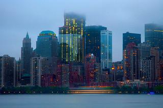 Sailing Past Four World Trade Center