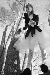 rbol (L i o n a ) Tags: bw naturaleza byn rio arbol mujer cuento cielo sueo borges piernas fantasa seos lionat nataliapetri