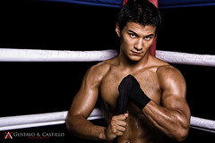 Photo Shoot - Ryan Cafaro (Gus.Castillo) Tags: fight hands fighter box ryan muscle wrap martialarts ring gustavo fist sweat strength ropes boxing gus gac castillo mma mixedmartialarts cagefight cafaro cagefighting gacphoto guscastillocom wwwguscastillocom