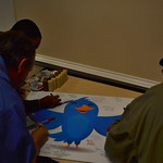 Signing the Twitterbird!