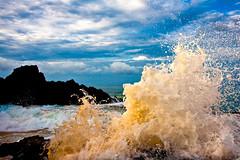 Maui Sandnsurf (mojo2u) Tags: ocean sea beach hawaii sand wave maui makena nikond700 nikon28300mm