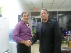 Joe Kaufman with Marc Kahlberg