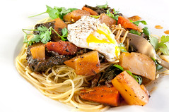 angel hair pasta with mustard green and swiss chard (bour3) Tags: pasta