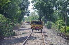 IMGP6386 (geepstir) Tags: car reading pennsylvania rail pa shamokin speeder sunbury narcoa