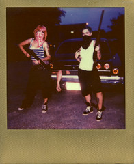 Ritzy_Peach thugPola005 (Onelog Photography) Tags: lighting sexy film tattoo polaroid losangeles friendship nashville gang hardcore 600 40 shotgun bandana impala handgun gangsta speedlight pinup brassknuckles acros rollin pushprocessed baller goldframe thelmaandlouise princesspeach ritzyriot