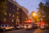 2012 08 17 - 7245 - DC - 10-N NW Fire (thisisbossi) Tags: usa night washingtondc us dc nw unitedstates northwest bluehour firetrucks shaw nstreet evenings logancircle fireengines tenthstreet 10thstreet dcfd firedepartments fireapparatus mountvernontriangle dcfems