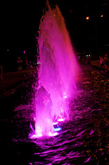 Wild water (Roving I) Tags: fountains water illuminations attractions nightlife danang vertical vietnam