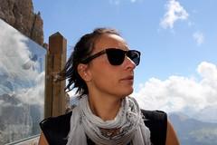 Denise, Sassolungo. Dolomiti (Giorgio Pongiluppi) Tags: montagna dolomiti sassolungo alpi