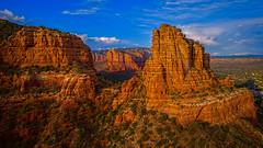 Castle Rock: from 550 Feet (Eric Gofreed) Tags: arizona castlerock drone sedona villageofoakcreek unitedstates us