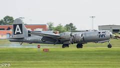 Touch Down (SRBenson1) Tags: agatheringofwarbirds airshow b29 boeing fifi maam midatlanticairmuseum pa pennsylvania reading superfortress wwiiairshow