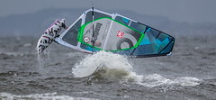 1DXA3317_Lr6_111s1s (Richard W2008) Tags: barassie troon windsurfing scotland waves action sport water weather wind