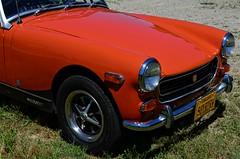 MG Midget (pjpink) Tags: mg midget vintage vehicle automobile convertible fun sporty orange 50yrdrm car southcentral chasecity virginia june 2016 summer pjpink