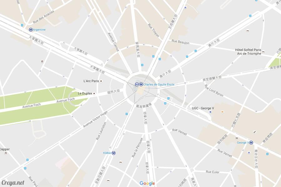 2016.8.28 ▐ 看我的歐行腿▐ 法國巴黎凱旋門、香榭麗舍間的歷史之道 19