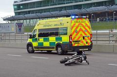 YX65DBO (Emergency_Vehicles) Tags: yx65dbo east midlands ambulance service 0812 fiat emergency open roads 2016 rockingham
