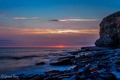 Dunraven Bay (parry101) Tags: southerndown dunraven bay bridgend sunset sunsets sky skies cloud clouds south wales sea seas water ocean long exposure exposures rock rocks seascape landscape landscapes seascapes coast shore le longexposure orange warm