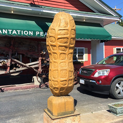 Giant Peanut (jschumacher) Tags: virginia wakefield wakefieldvirginia peanuts giantpeanut