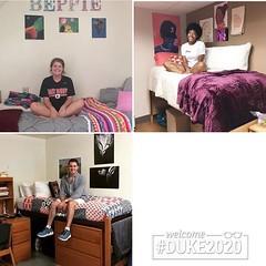 Welcome to Duke, New Devils! Share your #mydukeroom photos with @dukestudents to be featured! #duke2020 (Duke University) Tags: ifttt instagram duke university