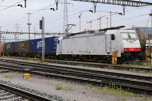 Crossrail 186 906-4 GTS Zug, Muttenz Rbf